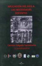 aplicaciones del eees a las necesidades docentes carmen salgado santamaria 9788415965961