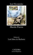 martin fierro (7ª ed.) jose hernandez 9788437601861