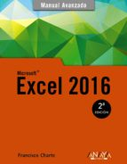 excel 2016 (manual avanzado)-francisco charte ojeda-9788441538061
