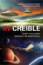 (pe) in-creible-josep guijarro-gonzalo de martorell-9788448008161