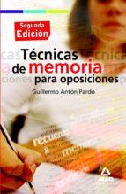 tecnicas de memoria para oposiciones (2ª ed) 9788467628661