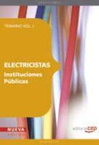 electricistas instituciones publicas: temario vol. i. (4ª ed.) miguel angel daddario 9788468117461