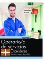 oposiciones osakidetza. servicio vasco de salud operario de servicios 9788468190761