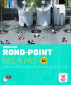 nouveau rond-point pas a pas a2 sin curso bachillerato frances frances-9788468321561