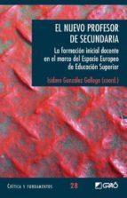 el nuevo profesor de secundaria. (ebook)-isidoro gonzalez gallego-9788478279296