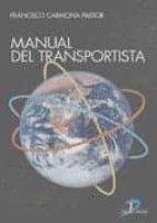 manual del transportista francisco carmona pastor 9788479786861