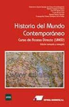 historia del mundo contemporaneo: curso de acceso directo (uned) (2ª ed.) genoveva garcia queipo de llano 9788479914561