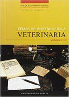 temas de historia de la veterinaria 9788483712061