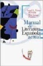 manual de literatura española actual 9788497402361