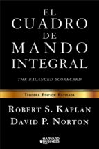el cuadro de mando integral (3ª edicion revisada) robert kaplan david norton 9788498754261