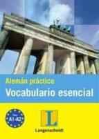 aleman practico vocabulario esencial 9788499293561