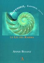 la ley del karma annie besant 9788499501161