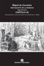 don quijote de la mancha. segunda parte. capítulo 48 (texto adaptado al castellano moderno por antonio gálvez alcaide) (ebook)-cdlap00002661