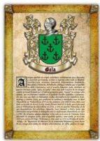 apellido gala / origen, historia y heráldica de los linajes y apellidos españoles e hispanoamericanos (ebook) antonio tapia cdlhf00015361