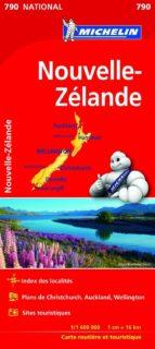 mapa nacional nueva zelanda 9782067217171