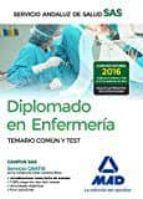 diplomado en enfermería del servicio andaluz de salud. temario co mún y test 9788414200971