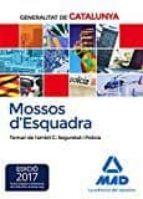 mossos d`esquadra. temari de l´ambit c: seguretat i policia 9788414208571