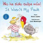 no ha sido culpa mía! / it wasn t my fault-helen lester-9788416648771