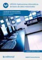 aplicaciones informáticas de bases de datos relacionales. adgd0208 (ebook) gabriel carmona romera 9788417224271