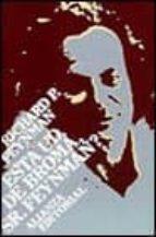 ¿esta ud. de broma sr. feynman?-richard phillips feynman-9788420695471