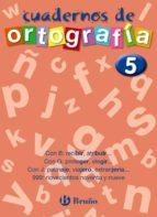 cuadernos de ortografia nº 5-francisco galera noguera-ezequiel campos pareja-9788421643471