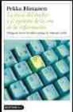 la etica del hacker y el espiritu de la era de la informacion pekka himanen 9788423336371