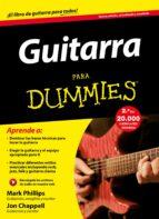 guitarra para dummies mark phillips john chappel 9788432902871