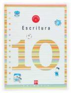 cuaderno de escritura 10 (4º educacion primaria) 9788434899971