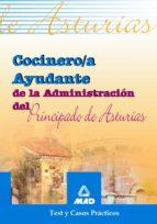 cocinero/a ayudante de la administracion del principado de asturi as: test y casos practicos 9788466523271