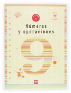 cuaderno de numeros y operaciones 9 (3º educacion primaria)-9788467500271