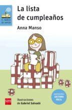 la lista de cumpleaños ( adaptación lectura fácil )-anna manson munne-9788467595871