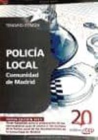 policia local comunidad de madrid. temario comun-9788468105871