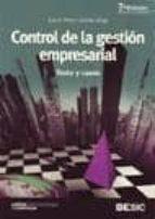 control de la gestion empresarial: textos y casos (7ª ed. revisad a y actualizada)-juan f. perez-carballo veiga-9788473565271
