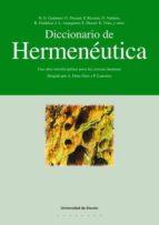 diccionario de hermeneutica-hans-georg gadamer-9788474859171