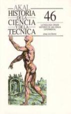 la fisiologia origen historico de una ciencia experimental-josep lluis barona vilar-9788476007471