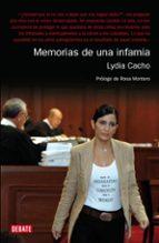 memorias de una infamia lydia cacho 9788483067871