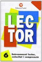 entrenament lector, velocitat i comprensió nº 6 lletra manuscrita-9788486545871