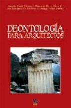 deontologia para arquitectos-domingo pellicer daviã'a-antonio garcia valcarce-9788489656871