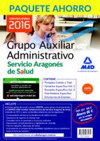 AUXILIAR ADMINISTRATIVO DEL SERVICIO ARAGONÉS DE SALUD. (INCLUYE TEMARIO COMÚN Y TEST, TEMARIO ESPECÍFICO I Y II, TEST