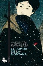 el rumor de la montaña yasunari kawabata 9788496580671
