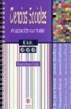ciencias sociales. adaptacion curricular 3º de eso (2ª ed.)-montserrat moreno carretero-9788497003971