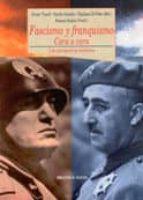 fascismo y franquismo. cara a cara, una perspectiva historica-javier tusell gomez-emilio gentile-giuliana di febo-9788497422871