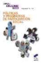 politicas y programas de participacion social joaquin garcia roca 9788497562171