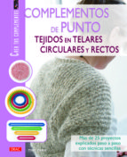 complementos de punto tejidos en telares circulares y rectos tine tarta 9788498742671