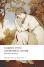a sentimental journey (oxford world s classics) laurence sterne 9780199537181