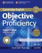 objective proficiency (2nd ed.): student s book pack (student s b ook with class audio cds (2)) annette capel wendy sharp 9781107633681