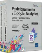 posicionamiento y google analytics: pack de 2 libros: genere y analice el trafico de su sitio web 9782409012181