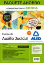 PAQUETE AHORRO AUXILIO JUDICIAL (TEMARIO VOLÚMENES 1 Y 2, TEST