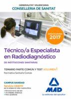 técnico/a especialista en radiodiagnóstico de instituciones sanit arias de la con 9788414208281