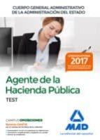 agentes hacienda publica test administracion del estado 9788414212981